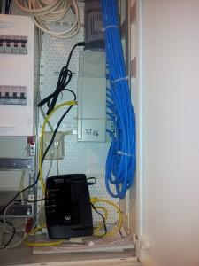 Netzwerk installieren