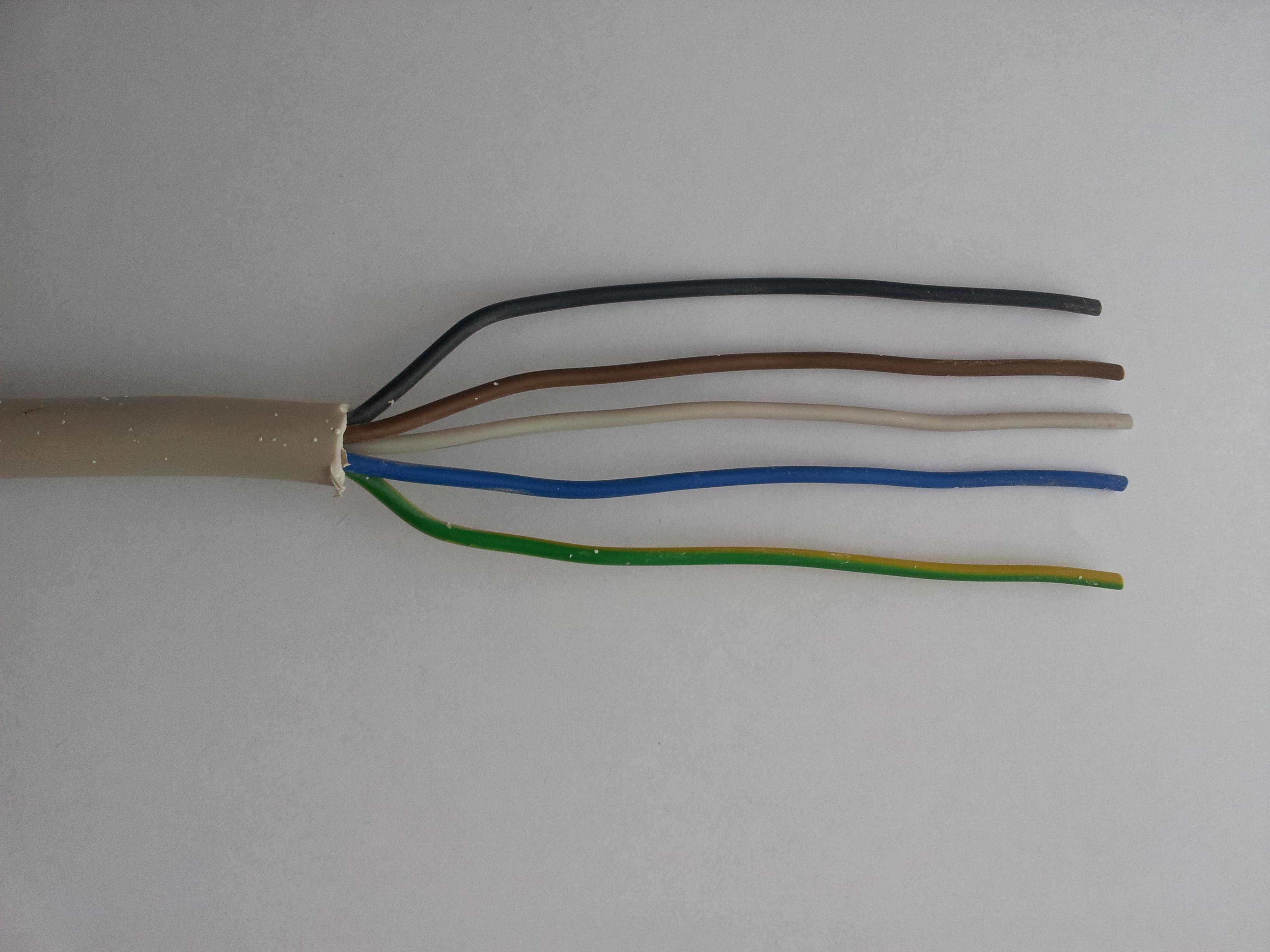 Kabelfarben | Kabelfarben früher | Kabelfarben Altbau (INFOS)
