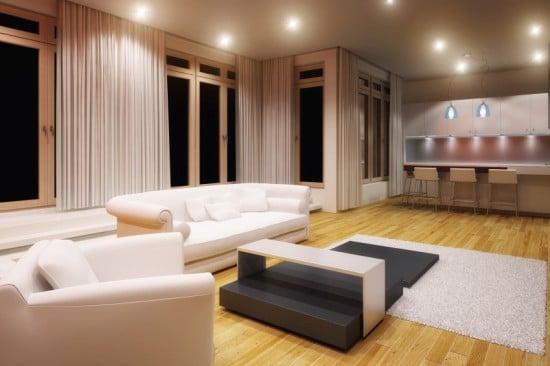 jalousie wohnzimmer:In Wohnräumen und Schlafräumen sollte eher gemütliches, warmes