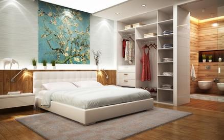 Elektroinstallation Schlafzimmer