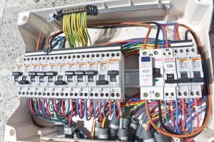 Elektroinstallation Unterverteiler