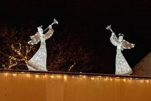 Weihnachtsbeleuchtung aussen