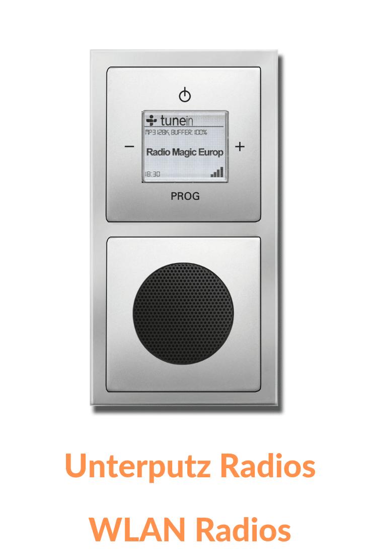 Unterputzradio WLAN Radio