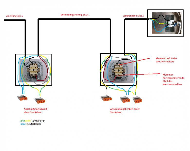 Ziemlich 1 Licht 2 Schalter Bilder - Elektrische Schaltplan-Ideen ...