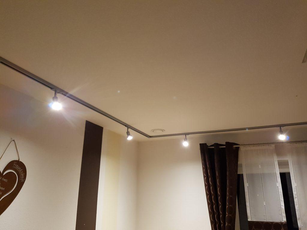 slv 1 phasenstromschiene montieren und anschlie en. Black Bedroom Furniture Sets. Home Design Ideas